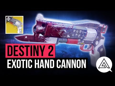 DESTINY 2  Crimson  New Red Death Exotic Hand Cannon Gameplay & Impressions