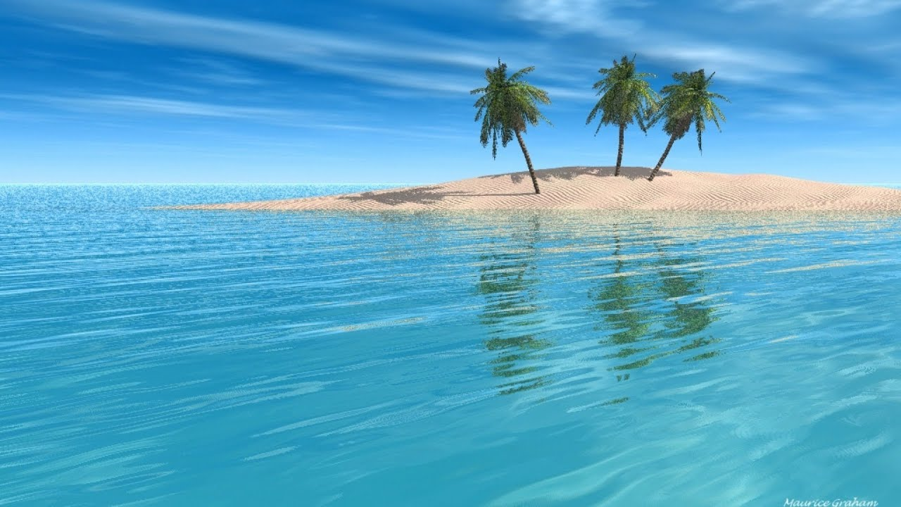Hd Tropical Island Beach Paradise Wallpapers And Backgrounds: Tropical Island Music