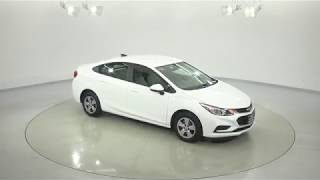 180762 - New 2018 Chevrolet Cruze White Test Drive
