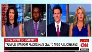 Trump Jr, Manafort reach senate deal to avoid public hearing