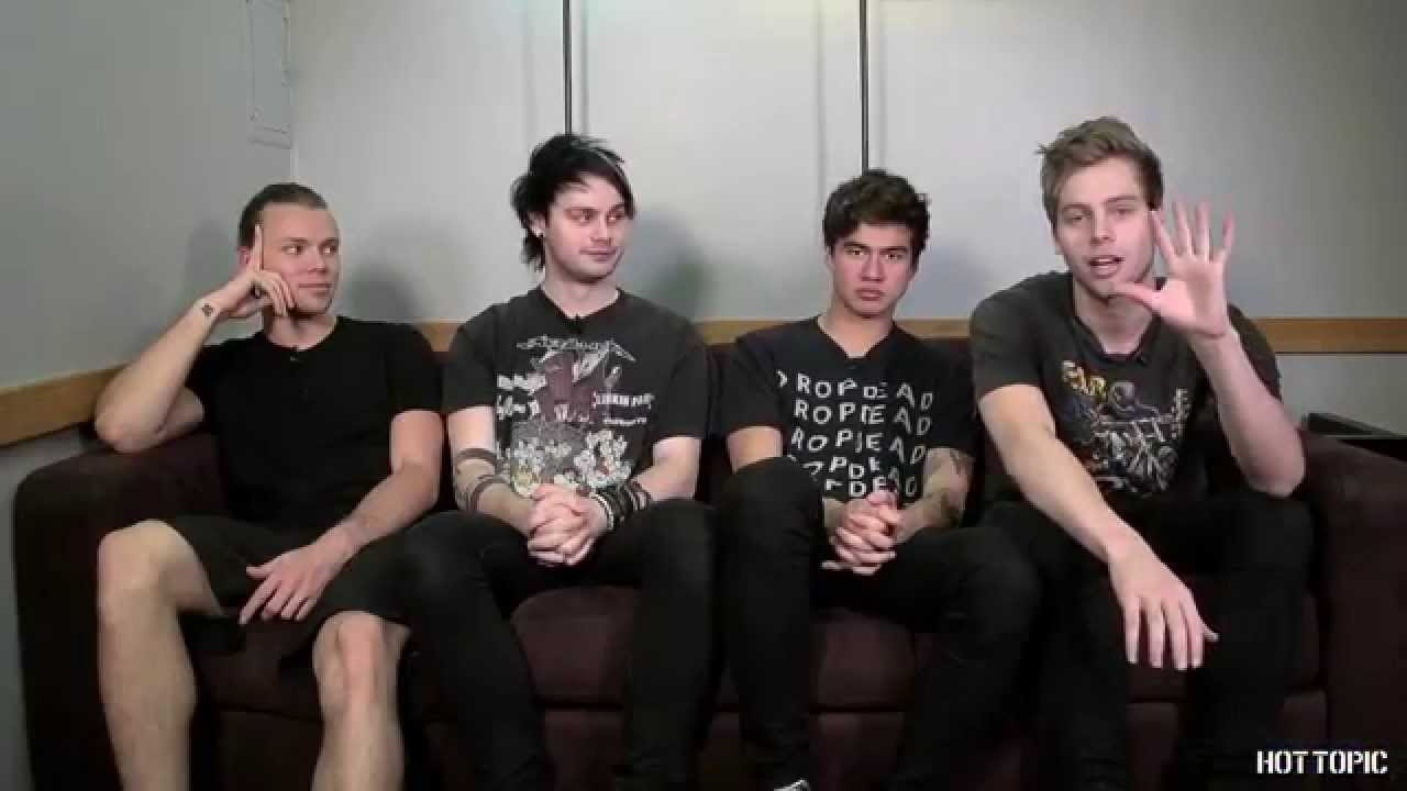 Interview 5 Seconds Of Summer Youtube