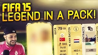 FIFA 15 - OMFG LEGEND IN A PACK IN FIFA 15 ULTIMATE TEAM