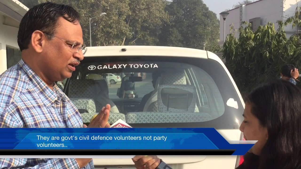 satyendar jain speaks on car pool with other ministers aaj tak