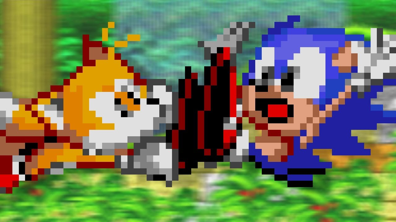Sonic Hack - Sonic 2 but with Chaotix Physics