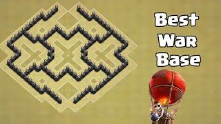 Clash of Clans BEST TH6 War Base! Anti Giant Healer/ July Update/ WIN WARS
