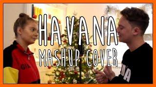 HAVANA - MASHUP COVER (LYRICS) l CONOR MAYNARD ft. ANNA MAYNARD