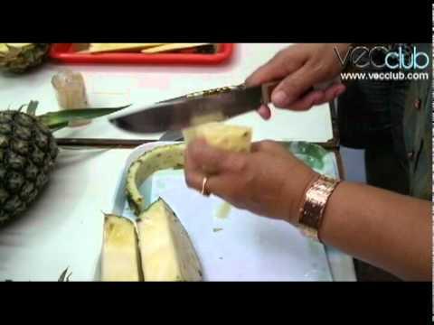การจัดแต่งจานผลไม้โดยการแกะสลัก.avi