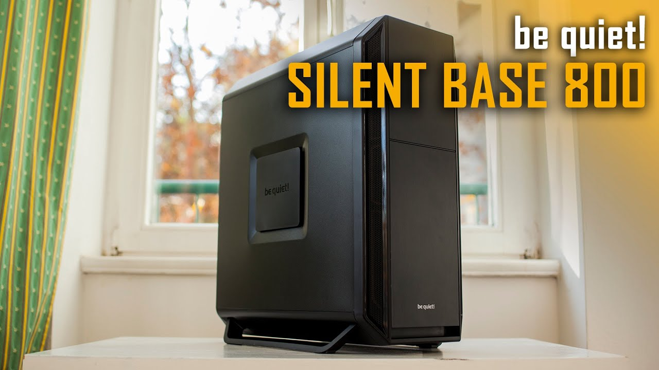 be quiet silent base 800 pc case review youtube. Black Bedroom Furniture Sets. Home Design Ideas