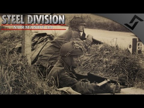 6th Airborne vs 352nd Pegasus 2v2 PvP - Steel Division: Normandy 44 - Beta Gameplay