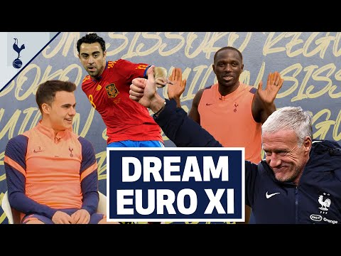 FRANCE V SPAIN EURO DREAM TEAM   Sissoko and Reguilon debate best XI from Euro 2000 & Euro 2008!