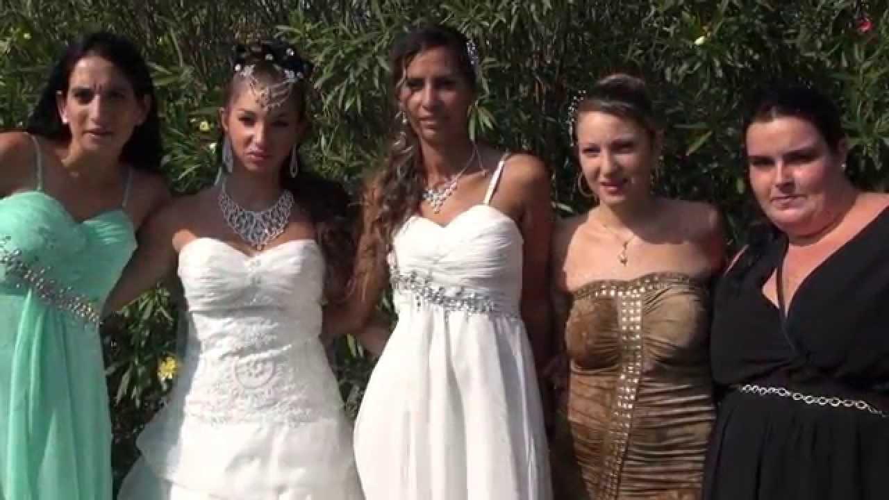 Mariage Gitan Carcassonne , Mélissa et Juan , Caméraman Nordine Aissaoui ,  YouTube