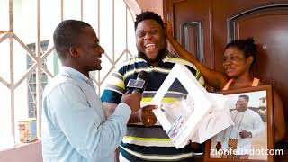 F00ling Be What? Happy Oteele And Wife Get Birthday Gift From Zionfelix