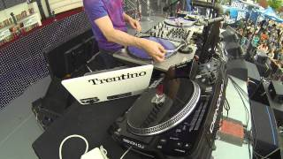 Trentino Live Set - BOOM DJ Battle Judge 2013 & Red Bull Thre3style National Champion - Live HD