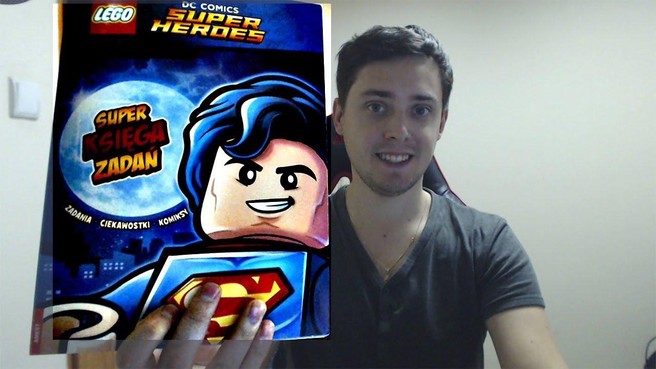 SUPER KSIĘGA ZADAŃ – LEGO DC Super Heroes