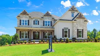 INSIDE A TOLL BROTHERS DECORATED MODEL HOME IN CUMMING, GA - B.P. $521,995