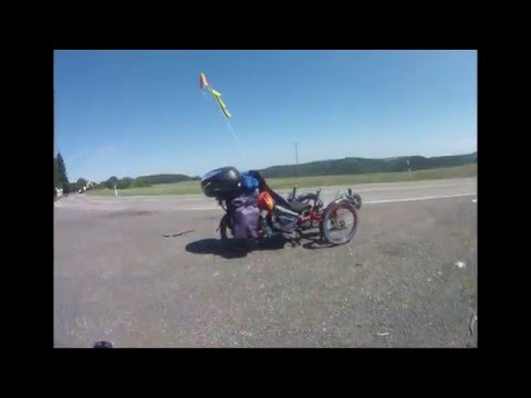 recumbent bike scorpion fx tour de eifel 2015