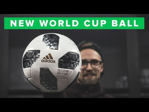 ADIDAS TELSTAR WORLD CUP FOOTBALL FIRST IMPRESSION