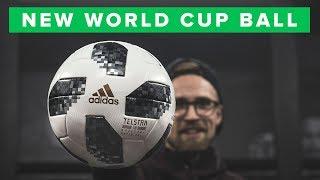 UNISPORT | ADIDAS TELSTAR WORLD CUP FOOTBALL FIRST IMPRESSION
