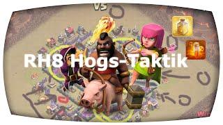 RH8 Schweinereiter-Taktik - JEDE BASE AUF 3 STERNE BEKOMMEN     Clash of Clans