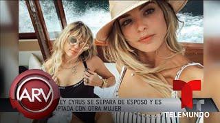 Miley Cyrus se separa de Liam Hemsworth y es captada con otra mujer | Al Rojo Vivo | Telemundo