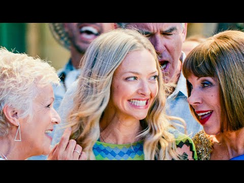 MAMMA MIA 2 Dancing Queen Song Scene Movie Clip, 2018