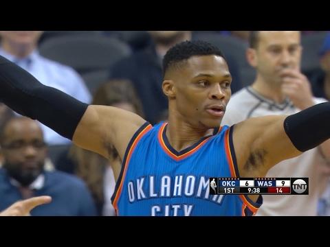 Oklahoma City Thunder vs Washington Wizards - Full Highlights | Feb 13, 2017 | 2016-17 NBA Season