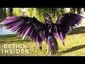 Cosplay Artist Creates Big Mechanical Wings