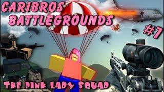 Roblox / Caribros Battlegrounds / Pink Lady Squad / LIVE STREAM /#7