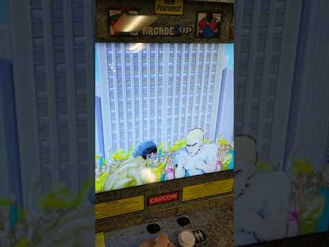 Arcade1Up - Street Fighter glitch from slykrysis