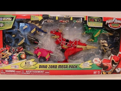 Dino Zord Mega Pack Review [Power Rangers Dino Charge]