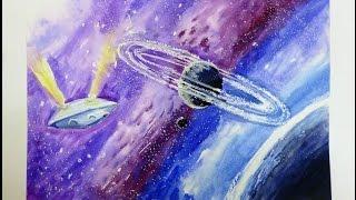 Рисуем Космос (мастер-класс)