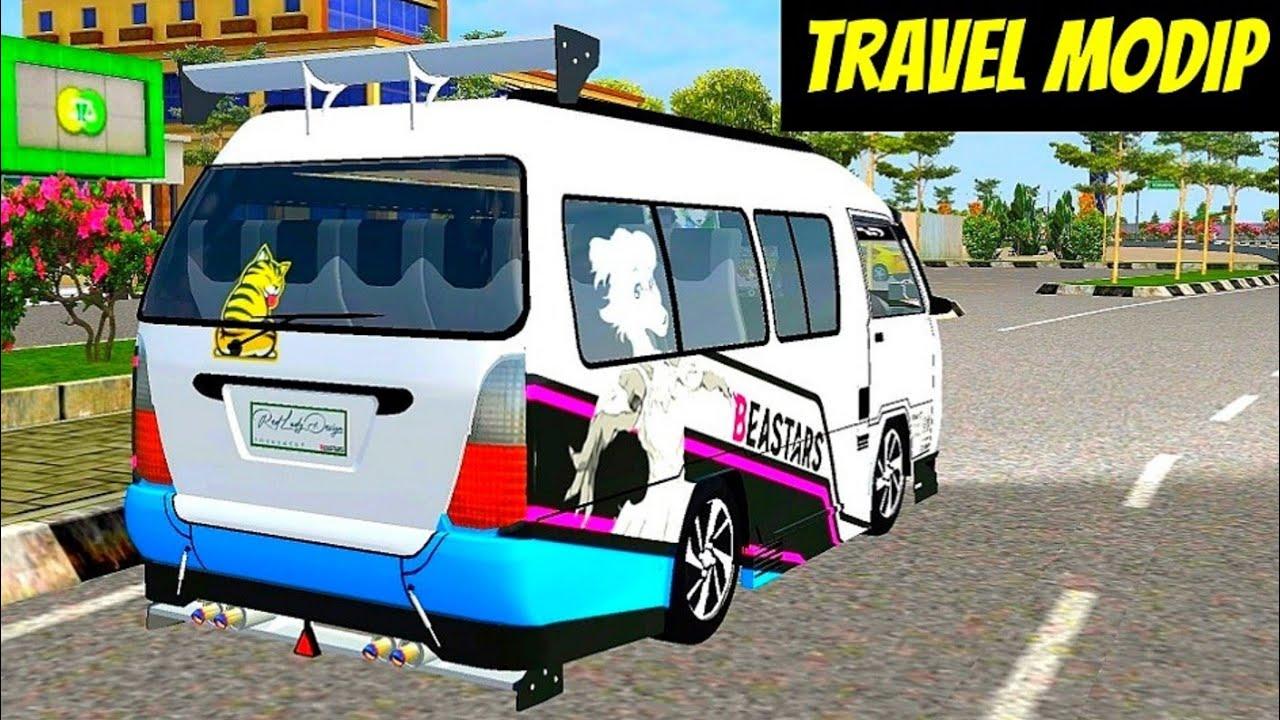 4200 Mod Bussid Mobil Travel HD Terbaik