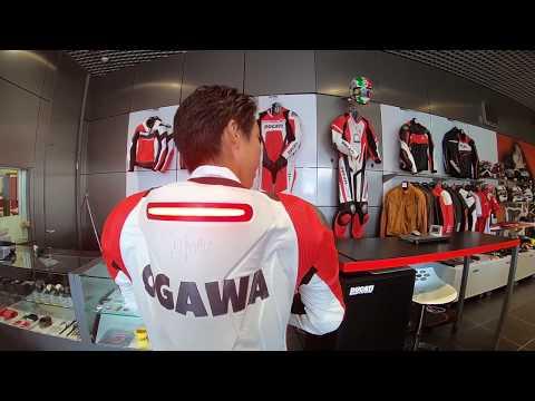 ドゥカティ エアバックレーシングスーツ DucatiCorse DairK1 MUGELLO R
