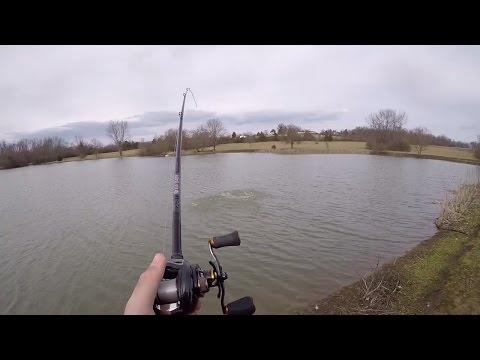 Giant Fish Hooked In Secret Fishing Spot