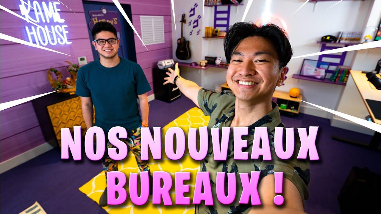 NOS NOUVEAUX BUREAUX ! (Setup 2021)