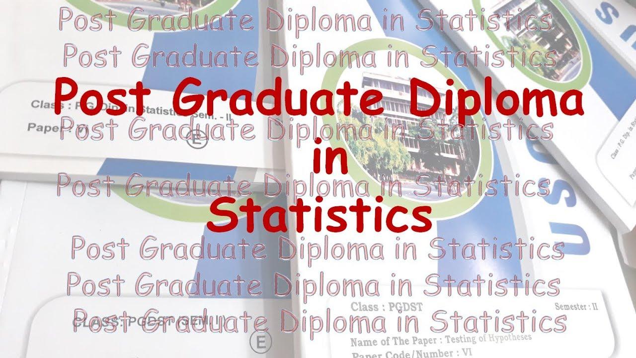 diploma graduate statistics