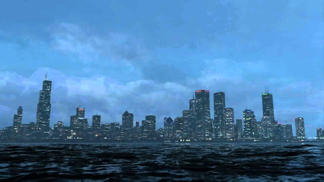 Watch Dogs  End Game Chicago Skyline Glitch  YouTube