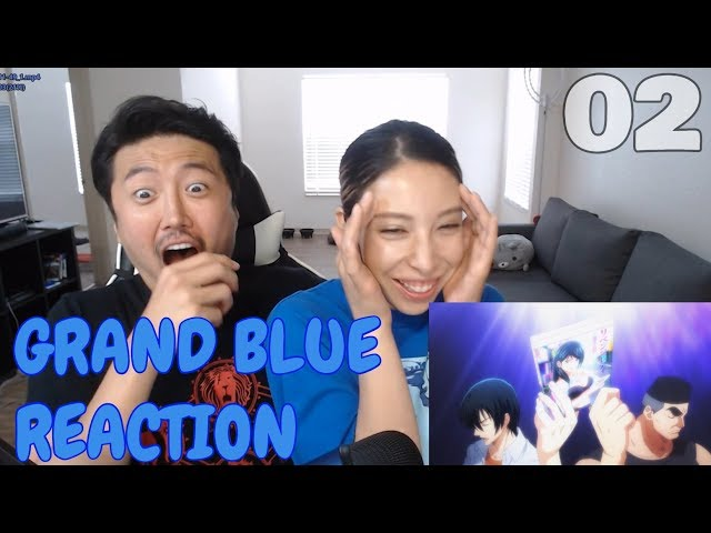 MANLIEST ROOM EVER! GRAND BLUE EPISODE 2 REACTION! - Kimchi and Tofu
