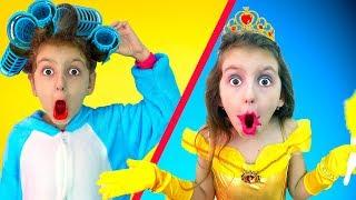 Elsa has Beauty Contest - Princess Dress up & Makeup   Super Elsa
