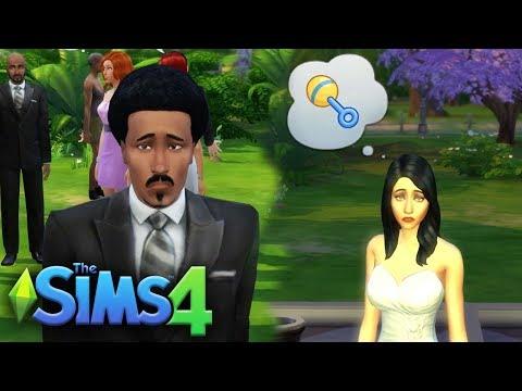 EDMOND'S FAILED WEDDING!! | The Sims 4 | Lets Play - Part 10