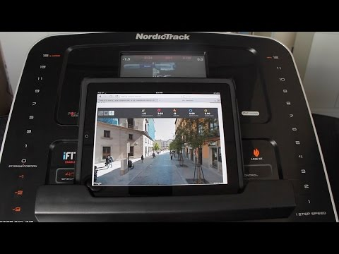 iFit Live street view - How to see your workout on your iPad or Computer