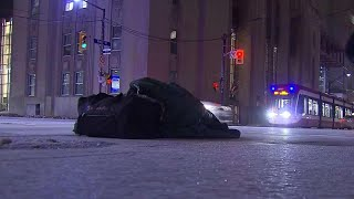 Extreme cold poses problems for homeless people