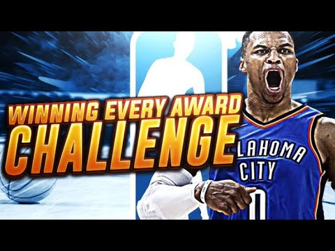 7 AWARDS!?! WINNING EVERY AWARD CHALLENGE! NBA 2K18