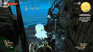 The Witcher 3 развалины крепости у одинокой скалы