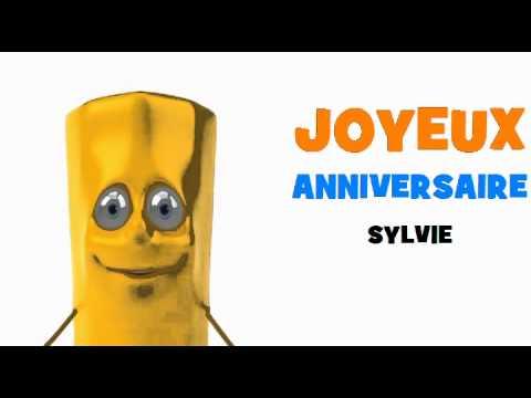 Joyeux Anniversaire Sylvie Youtube
