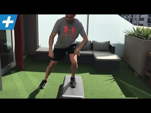 Lateral Step Up with Stability / Load Progression | Feat. Tim Keeley | No.210 | Physio REHAB