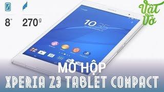 [Review dạo] Mở hộp & đánh giá nhanh Sony Xperia Z3 Tablet Compact