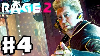 Rage 2 - Gameplay Walkthrough Part 4 - Mutant Bash TV and ChazCar Derby! (PC)