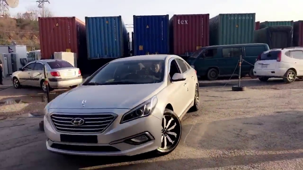 Hyundai Sonata 2017 Lf On 19 Inches Rims