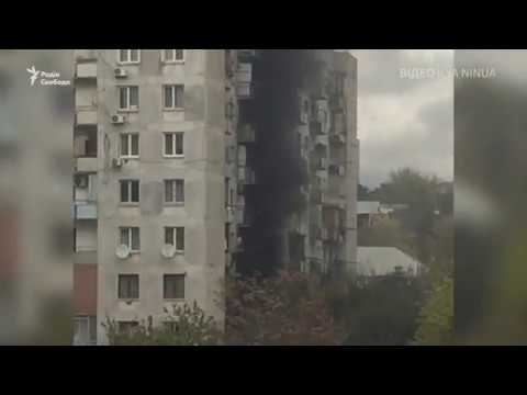Стрілянина у Тбілісі (відео очевидця)